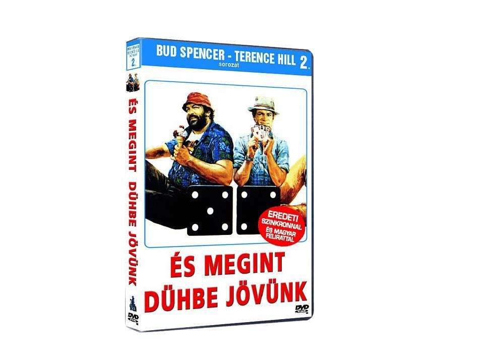 És megint dühbe jövünk - DVD