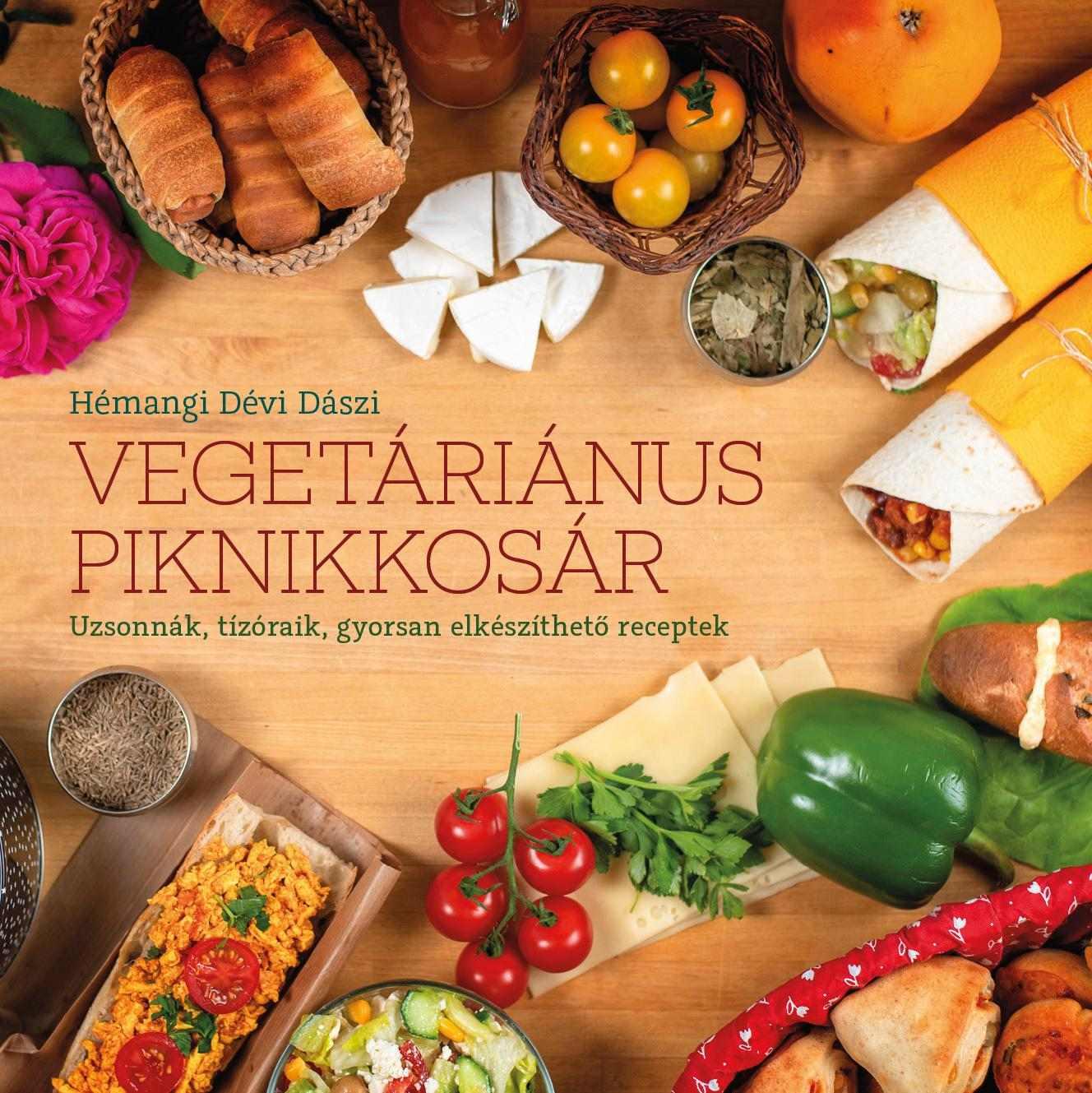 Vegetáriánus piknikkosár