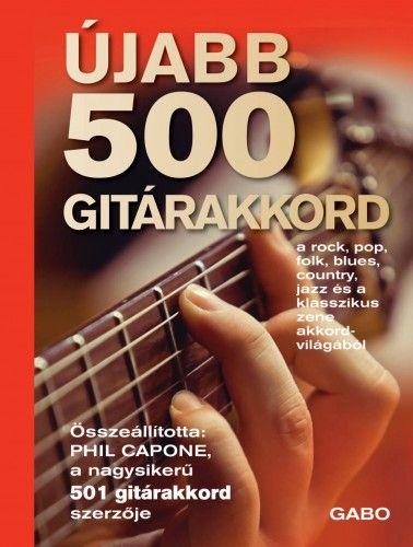 Újabb 500 gitárakkord