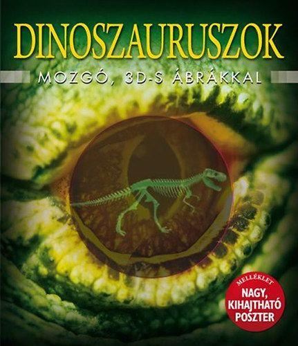 Dinoszauruszok mozgó 3D-s ábrákkal