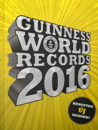 Guinness World Records 2016 - Craig Glenday pdf epub