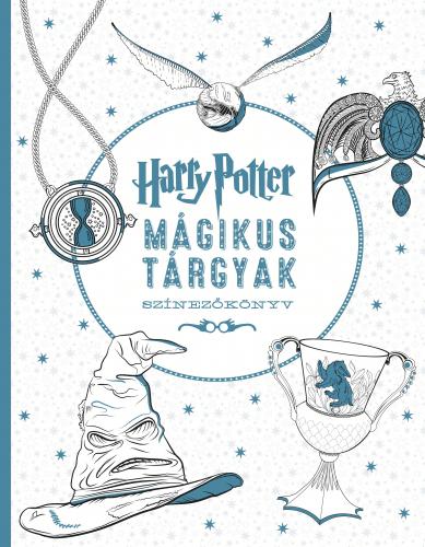 Harry Potter – Mágikus tárgyak színezőkönyv