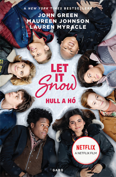 Let It Snow - Hull a hó - filmes borítóval - John Green |