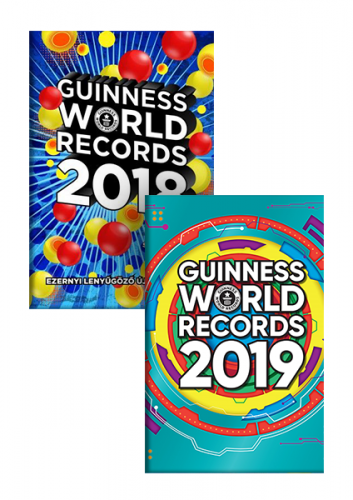 Guinness World Records 2019 és 2018 - könyvcsomag -  pdf epub