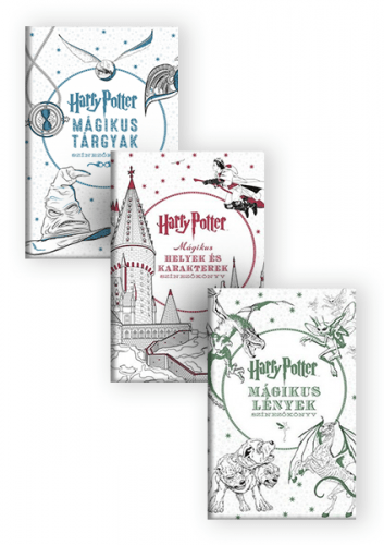 Harry Potter színezőkönyvek - könyvcsomag