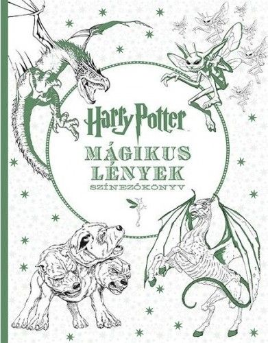 Harry Potter Mágikus lények - színezőkönyv