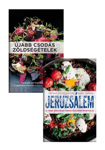 Yotam Ottolenghi: Újabb csodás zöldségételek + Jeruzsálem - könyvcsomag