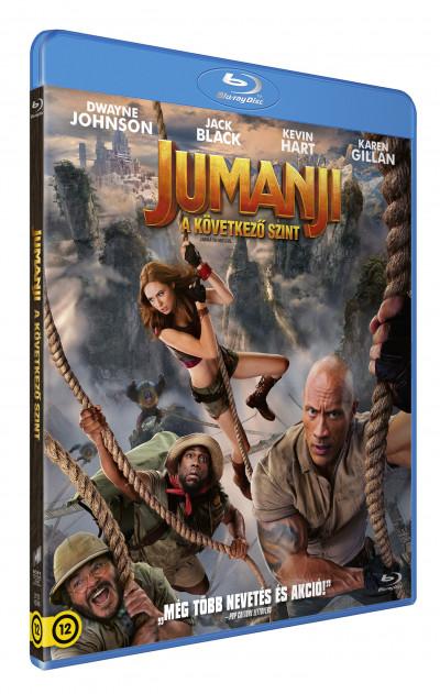 Jumanji - A következő szint - Blu-ray
