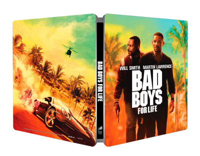 Bad Boys - Mindörökké rosszfiúk - steelbook - Blu-ray