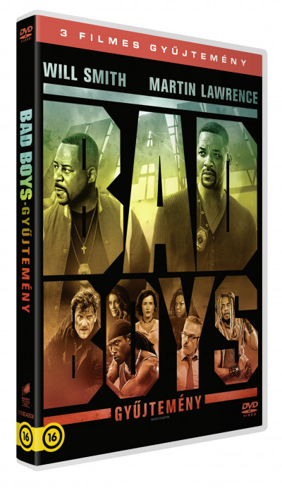 Bad Boys 1-3. - DVD