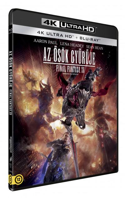 Ősök gyűrűje: Final Fantasy XV - 4K Ultra HD + Blu-ray