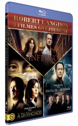 Robert Langdom 3 filmes gyűjtemény - Blu-ray