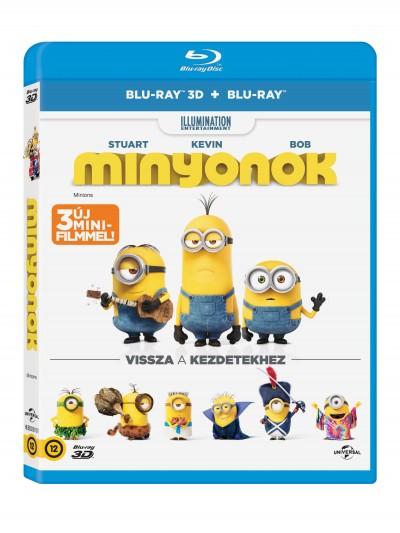 Minyonok - 3DBlu-ray+Blu-ray