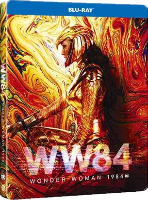 Wonder Woman 1984 - limitált, fémdobozos változat (steelbook) - Blu-ray