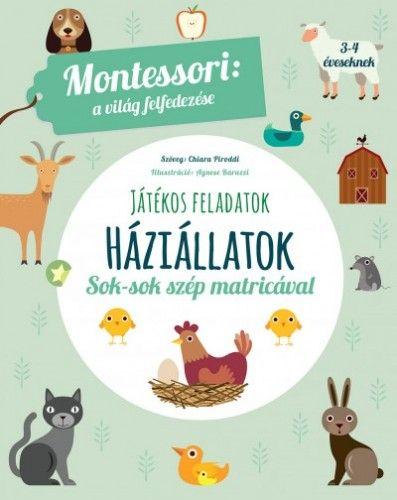 Háziállatok - A világ felfedezése - Maria Montessori |