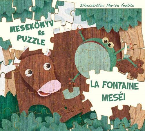 La Fontaine meséi - mesekönyv és puzzle - White Star Kids |