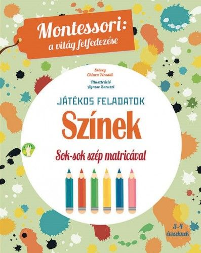 Színek - Maria Montessori pdf epub
