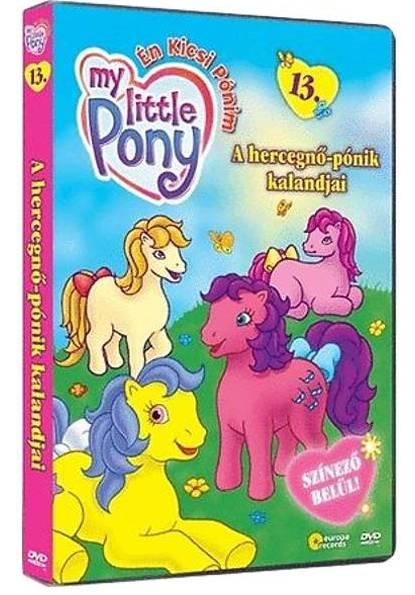 Én kicsi pónim 13. - A hercegnő pónik kalandjai - DVD
