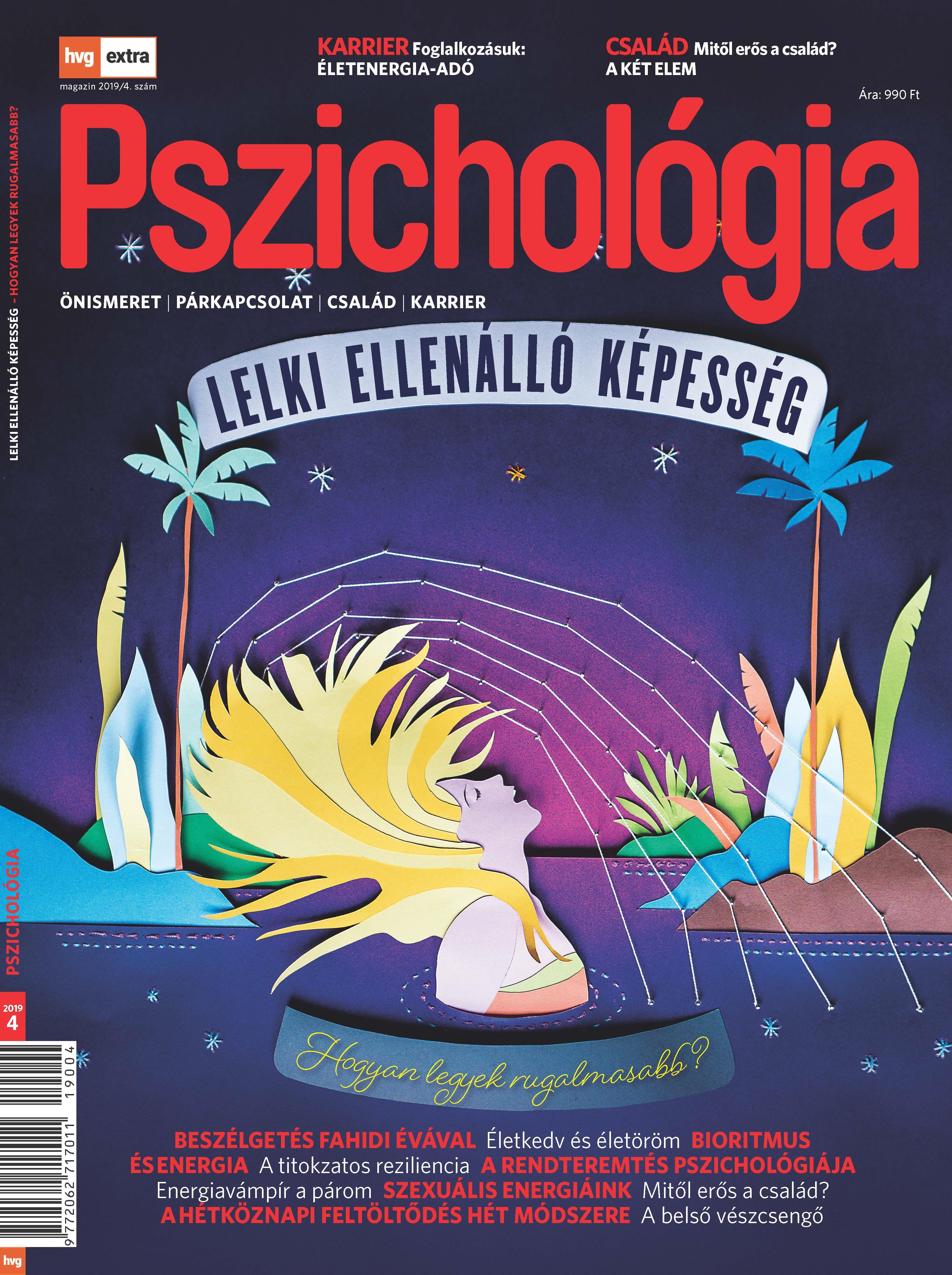 HVG Extra Magazin - Pszichológia 2019/04 -  pdf epub