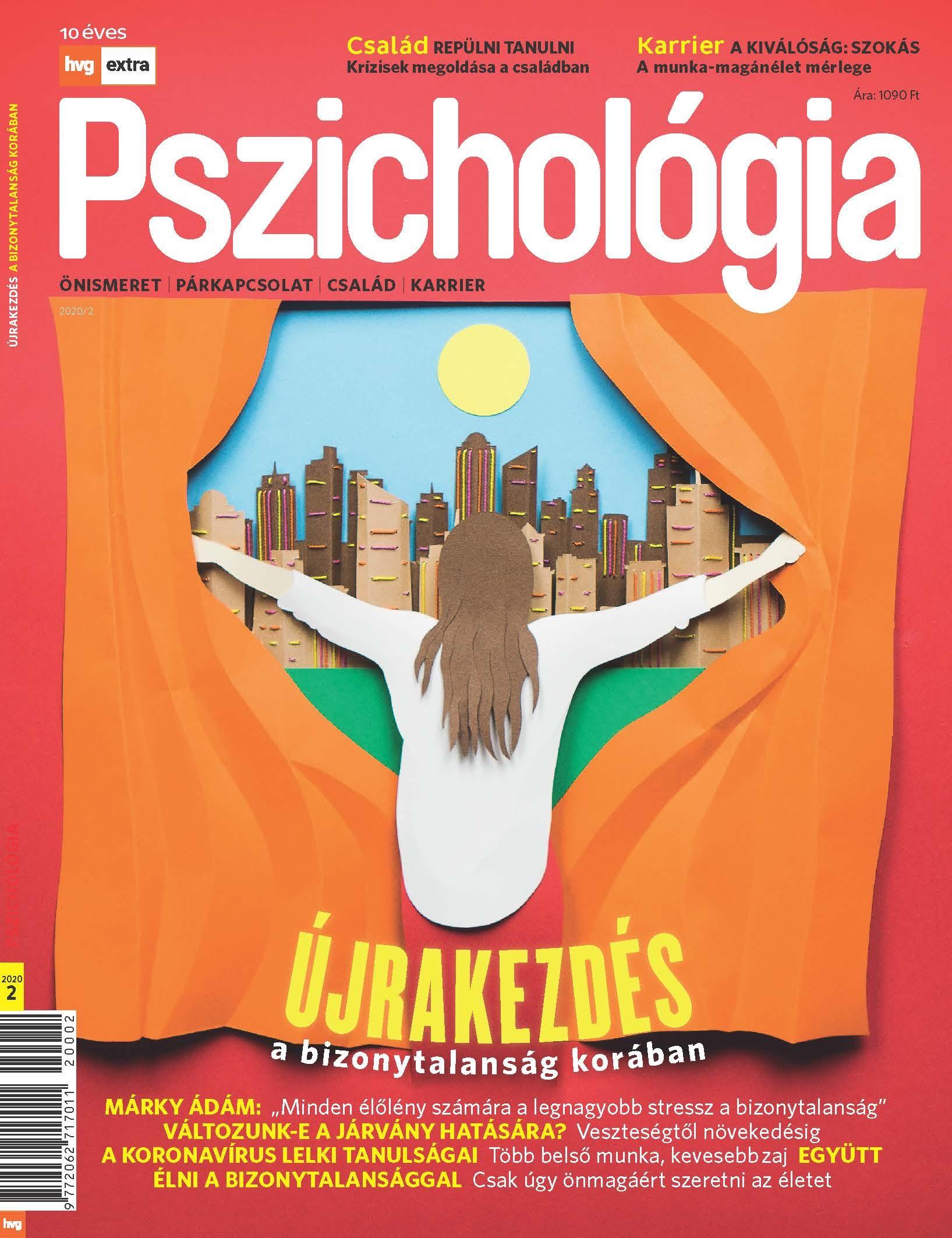 HVG Extra Magazin - Pszichológia 2020/002