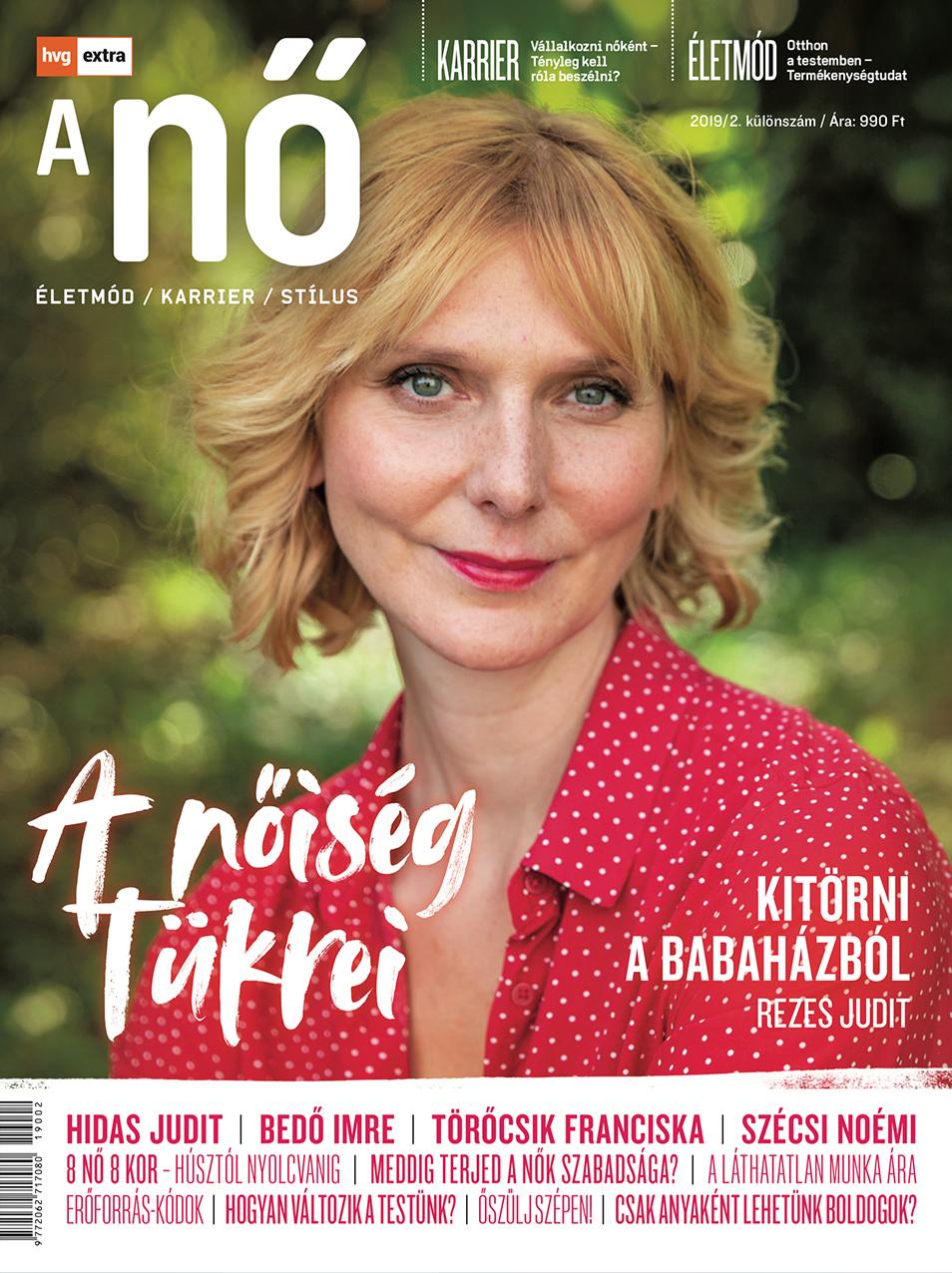 HVG Extra Magazin - A Nő 2019/02 - A nőiség tükrei -  pdf epub