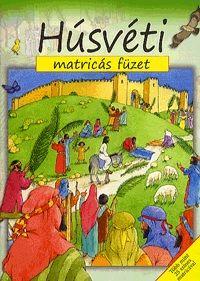 Húsvéti matricás füzet