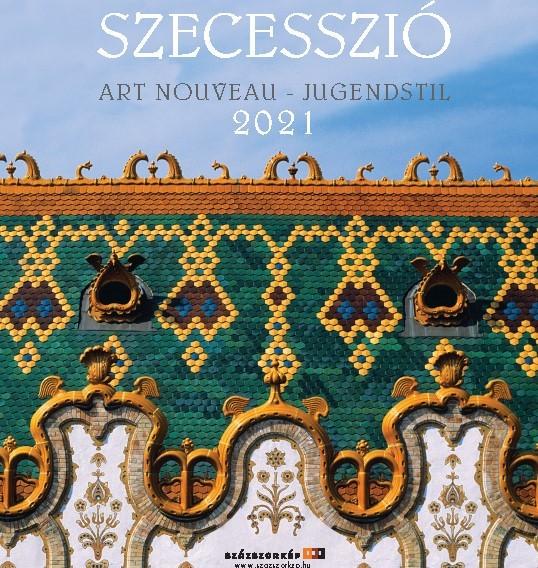 Szecesszió naptár 2021