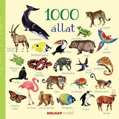 1000 állat - Usborne