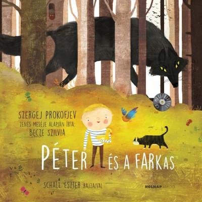 Péter és a Farkas - CD melléklettela