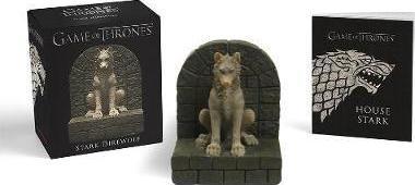 Game of Thrones: Stark Direwolf - Book & Statue