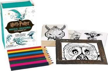 Harry Potter: Magical Creatures Coloring Kit