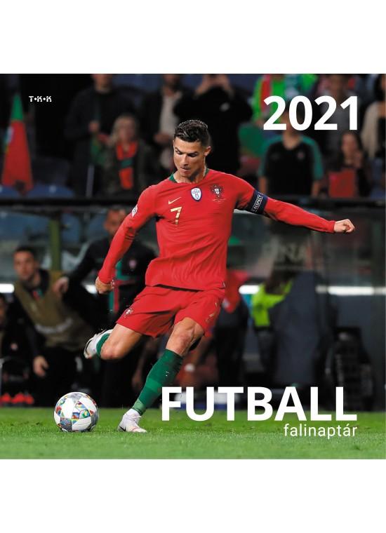 Futball falinaptár - 2021