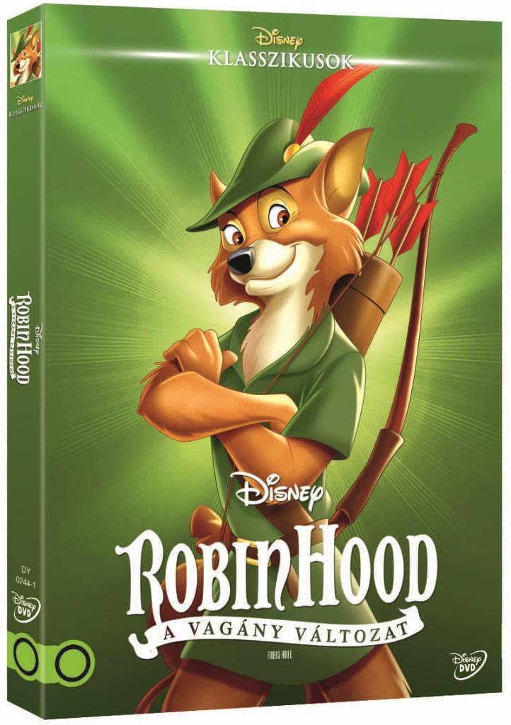 Robin Hood- Vagány változat (O-ringes, gyűjthető borítóval) - DVD