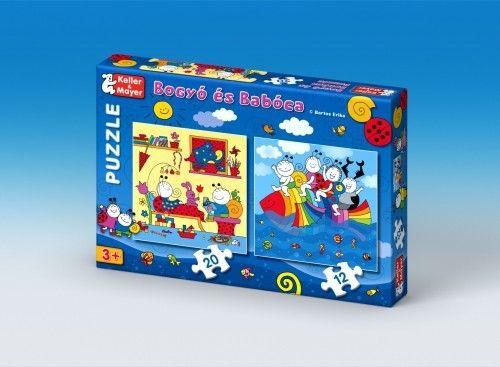Bogyó és Babóca - Szivárványhal (puzzle)