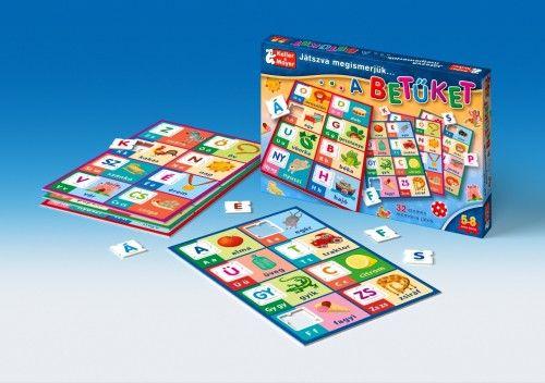 Játszva megismerjük a betűket (puzzle)