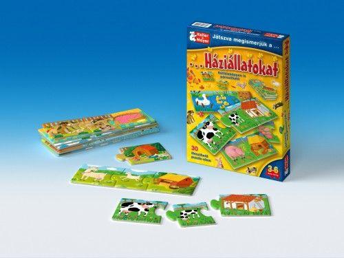 Játszva megismerjük a háziállatokat (puzzle)