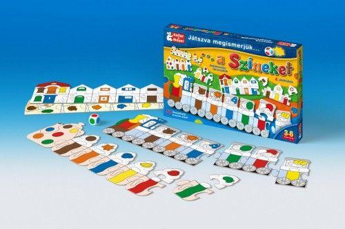 Játszva megismerjük a színeket (puzzle)