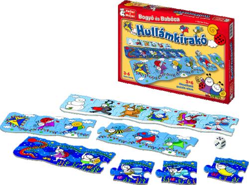 Bogyó és Babóca - Hullámkirakó (puzzle)