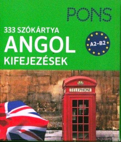 333 szókártya - angol kifejezések A2-B2
