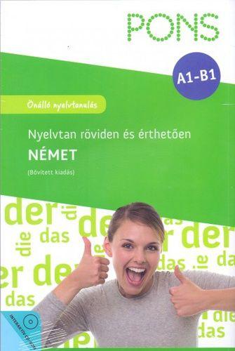 PONS Nyelvtan röviden és érthetően Német + CD-ROM