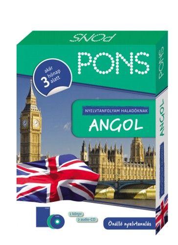 PONS Nyelvtanfolyam haladóknak - Angol - Akár 3 hónap alatt
