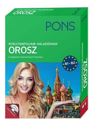 PONS Nyelvtanfolyam haladóknak – Orosz