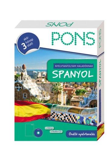 PONS Nyelvtanfolyam Haladóknak - Spanyol