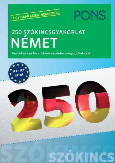 PONS 250 Szókincsgyakorlat Német