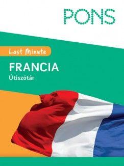 Last Minute Útiszótár - Francia