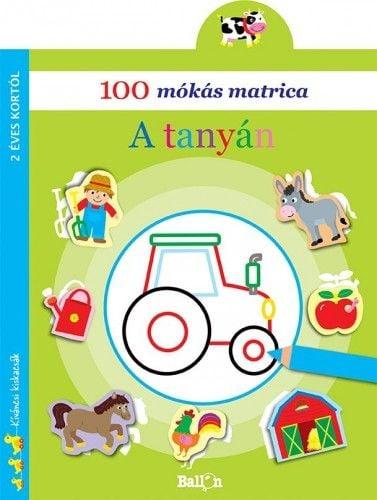 100 mókás matrica - A tanyán -  pdf epub