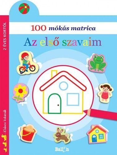 100 mókás matrica - Az első szavaim -  pdf epub