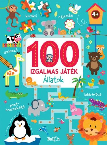 100 izgalmas játék - Állatok -  pdf epub