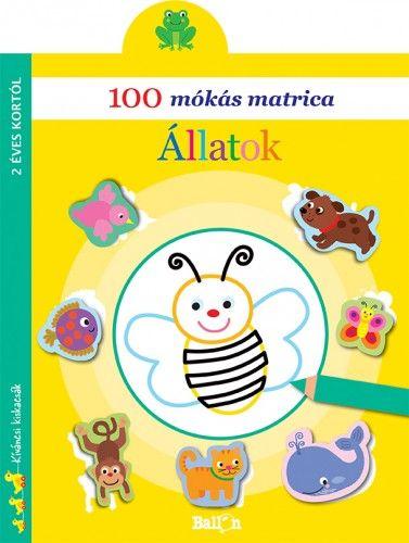 100 mókás matrica - Állatok -  pdf epub