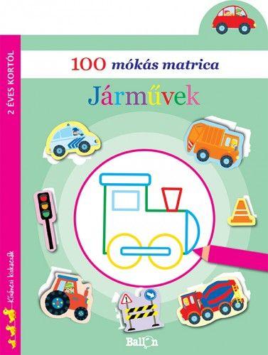 100 mókás matrica - Járművek -  pdf epub